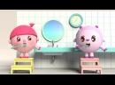 Малышарики - Новые серии - Щётка 84 серия Развивающие мультики