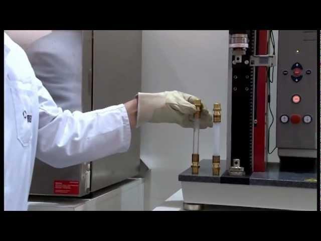 REHAU - Test du tube PE-Xa