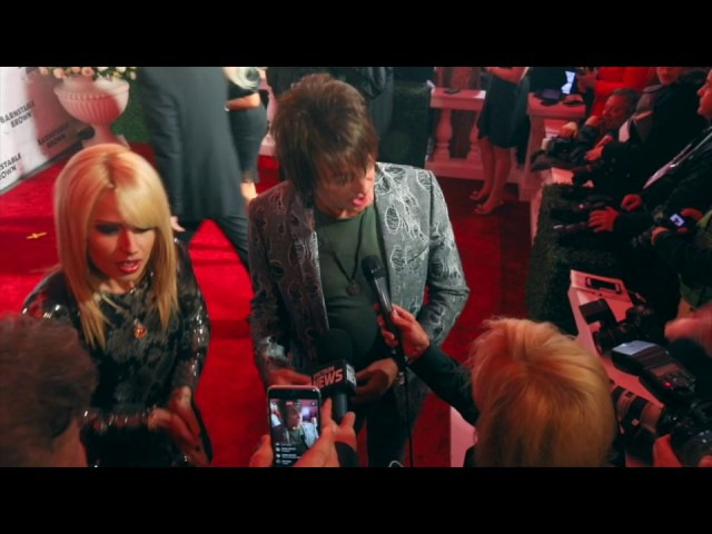 Richie Sambora and Orianthi rock the Barnstable red carpet