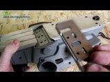 Как правильно вставить нож в электрорубанок