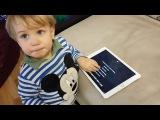 Ребенок в 1.5 года общается с Сири! Просит мультик про машинки) УМОРА!))