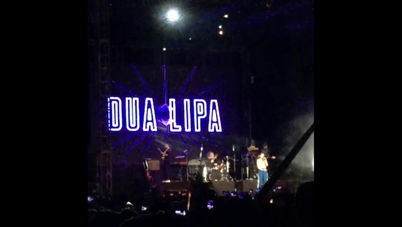 Dua Lipa - Lost In Your Light (Live at the «Good Vibes» in Gohtong Jaya)