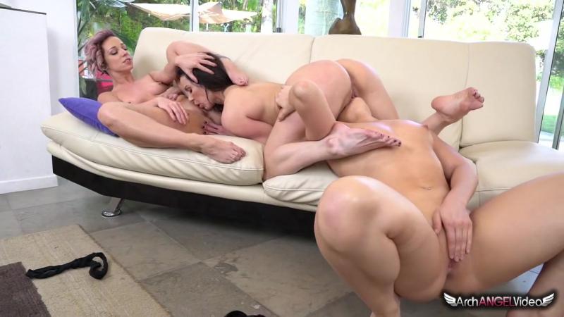 AJ Applegate, Jada Stevens,  Kendra Lust - The Booty Queen 3 [Lesbian, Pussy Licking, Threesome]