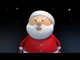 Футаж Новогодний, Дед Мороз