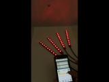 Phone control car interior light RGB body light