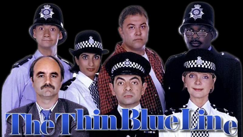 Mr. Bean - Тонкая голубая линия (1 из 4)(1995 1996)