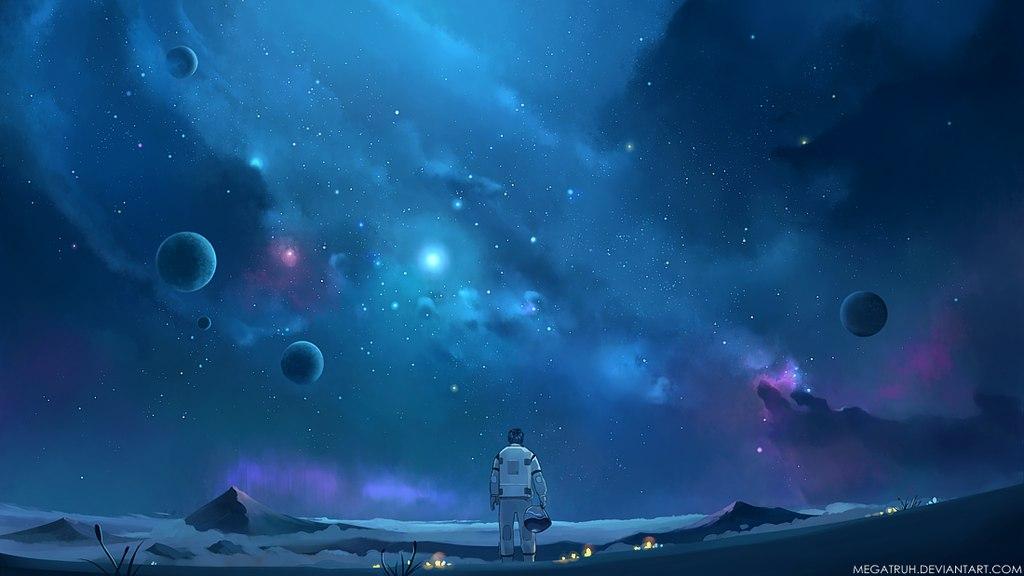 Звёздное небо и космос в картинках - Страница 20 OQ-StInALEk