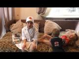 Дети играют в доктора - Полезла в розетку, ударило током