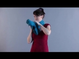 Как можно завязать шарф или палантин