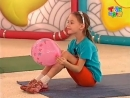 Прыг-скок команда. Разминка с шариком