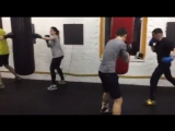Бокс в Fight Family Club. Тарас Биденко