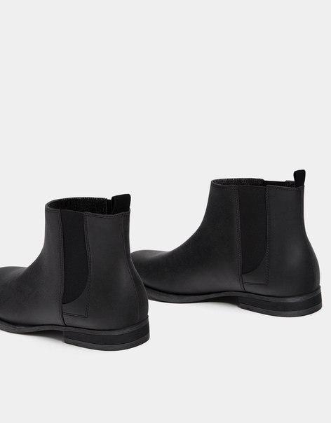 Мужские ботинки с эластичными вставками