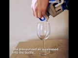 This device lets you pour wine without busting...