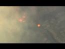 Съёмка с вертолёта горящей Санта-Розы Калифорния, США, 9.10.2017