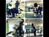 Тренировка спины, выполняет инструктор Алсу @alsu_09ExFit👍👍👍