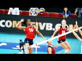 TOP 10 Best Womens Volleyball Spikes - 3rd Meter Spikes - Powerful Volleyball Spikes
