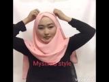 Готовый хиджаб,нарядный