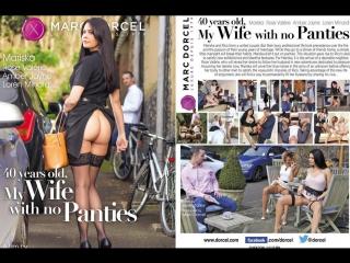 #Pron 40 years old, My Wife With no Panties (mariska naughty 40 years old milf)