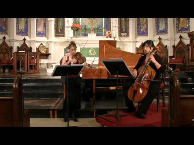 Jacquet de la Guerre Sonata in D minor for Violin and Continuo performed by House of Time