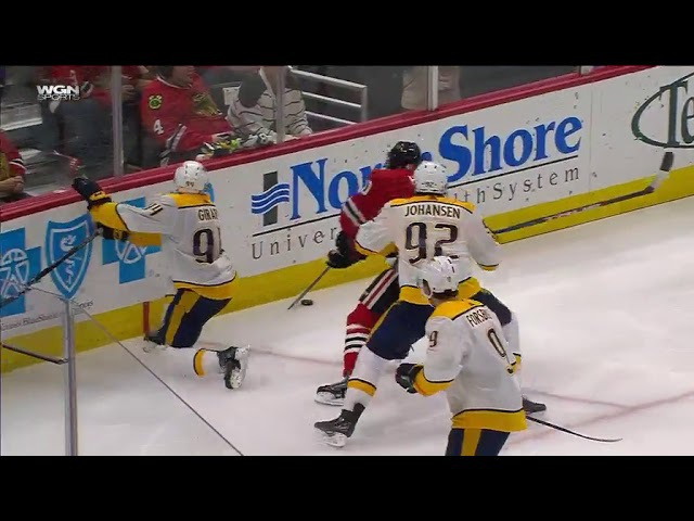 Nashville Predators vs Chicago Blackhawks - October 14, 2017   Game Highlights   NHL 2017/18