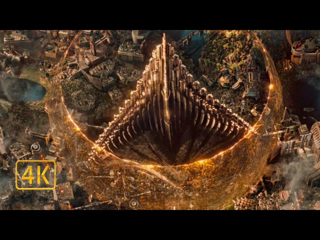 Нападение темных эльфов на Асгард Тор 2 Царство тьмы