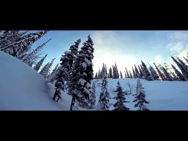 Лыжный поход по сибирской тайге Siberian taiga