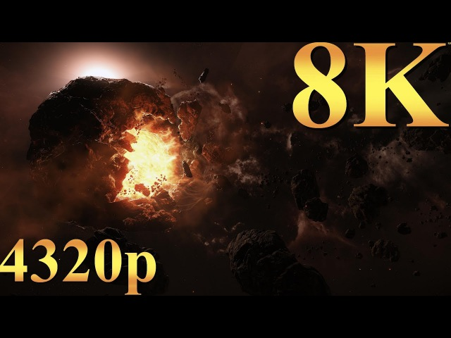 Star Citizen 8K 4320p Gameplay Titan X Pascal 4 Way SLI PC Gaming 4K | 5K | 8K and Beyond