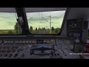 Сафоново-Вязьма на электровозе ЧС8 Trainz Railroad Simulator 2012