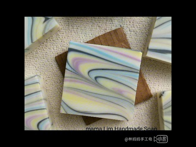 Swirl soap technique 渲染皂