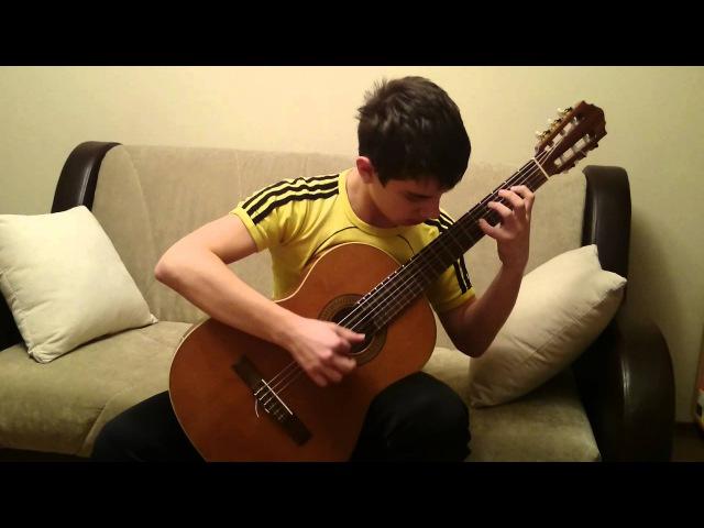 Румба Штирлиц\Rumba Shtirlitz on guitar