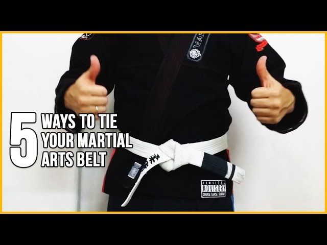 5 Different Ways to Tie Your JudoBJJKarate Martial Arts Belt