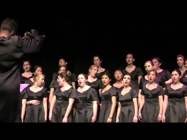 NYU Women's Choir Spring 2010 - Duetto Buffo Di Due Gatti