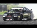Nissan Skyline R33 Great Sounding RB25 Turbo Engine Drift!