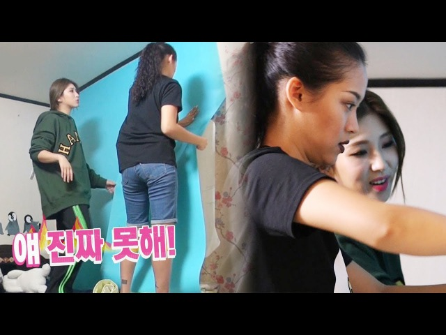 Nada VS Giant Pink, room decorating fighting? @'It's Good To Be A Little Crazy' 2ep 171105