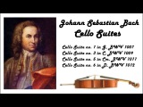 Johann Sebastian Bach - Cello suites in 432 Hz (great for reading or studying!)