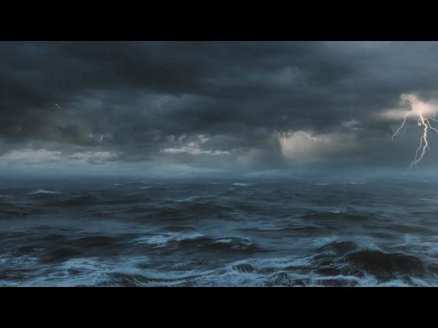 ⚡️ [10 HOURS] Thunderstorm At Sea Sounds For Sleeping ~ Thunder Rain Ocean Sea Lightning Ambience