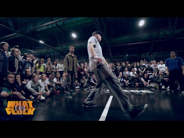 What The Flock vol.4   Hip-Hop 2x2 1\4 final - Dam'en Kadet vs Ani Atajan