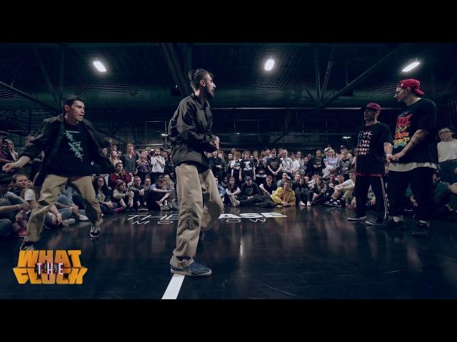 What The Flock vol.4   Hip-Hop 2x2 1/8 final - Stamet Farra vs Maximus Ego