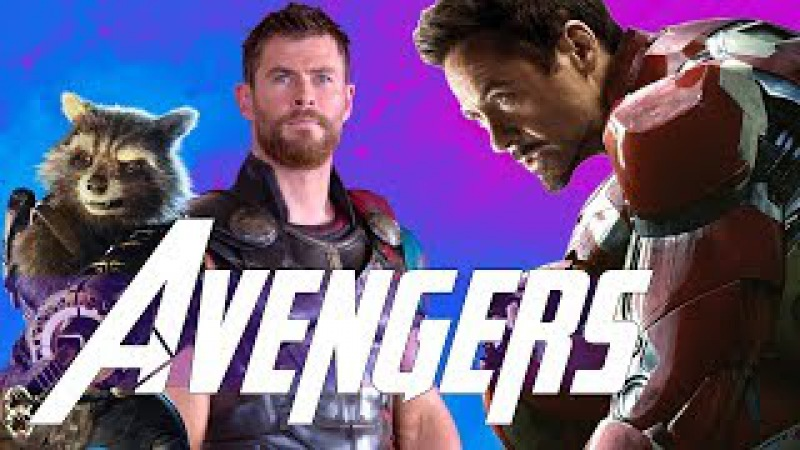 Thanos Goes to Wakanda The Avengers Meet the Guardians of the Galaxy - Avengers Infinity
