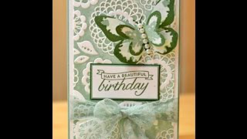 No.87 - Painted Embossing - JanB UK Stampin' Up! Demonstrator Independent