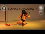 Arianna Candido (Aryanna) judge showcase Italian Pole Dance Contest 2017