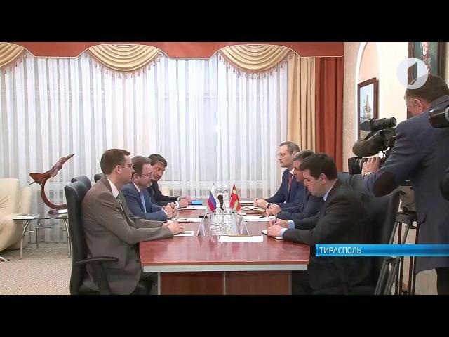 Президент встретился с послом по особым поручениям МИД РФ