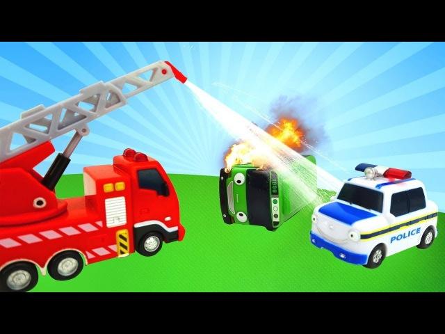 Giochi con cars per bambini in italiano-Tayo, il piccolo autobus e i suoi amici-Video educativi
