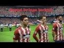 Atletico Madrid vs Roma | UEFA Champions Legaue | Vicente Calderon | PES 2017 HD