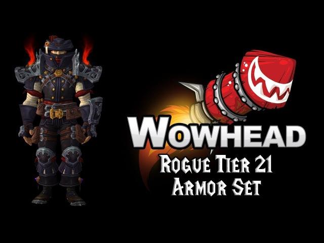 Rogue Tier 21 Armor Set - Regalia of the Dashing Scoundrel