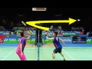 17 CRAZY Net Blocks in Badminton