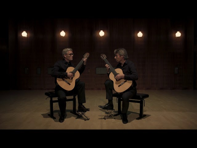 Fernando Sor (1778-1839) L'encouragerment op.34 performed by Scandinavian Guitar Duo