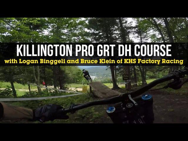 PINNED POV! Logan Binggeli Bruce Klein, Pro GRT Killington, VT