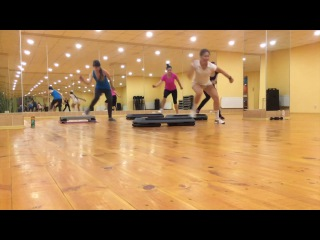 Step aerobics june 2017 by Karpunova Katerina