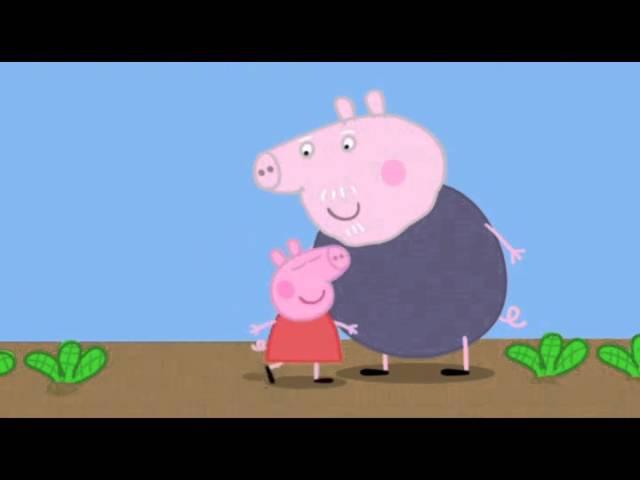 Peppa Pig Series 1 Episode 09 Gardening
